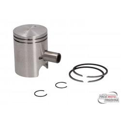Piston set 40.0mm 50cc aluminum cylinder for CPI SX 50, SM 50, Beeline Supercross, SMX 50