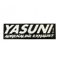 Nalepka Yasuni Adrenaline 115x35