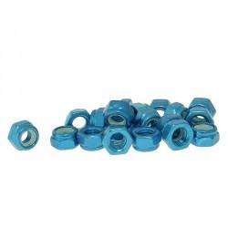 Varovalne matice aluminjaste modre M5 -20kom