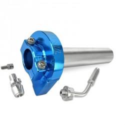 Hitra ročica plina TNT R EVO -MODRA CNC