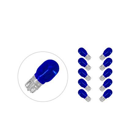 Žarnica 12V 10W -mala MODRA