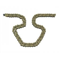 Chain KMC gold - 420 x 130 - incl. clip master link  AM6 , Derbi