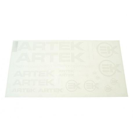 Set nalepk  ARTEK white  -44x23cm