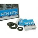 Crankshaft bearings Naraku heavy duty left and right incl. oil seals for Morini