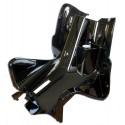 Leg Shield Black for Aerox , Nitro