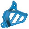 Sprocket cover Blue for Minarelli AM, Generic, KSR-Moto, Keeway, Motobi, Ride, 1E40MA, 1E40MB