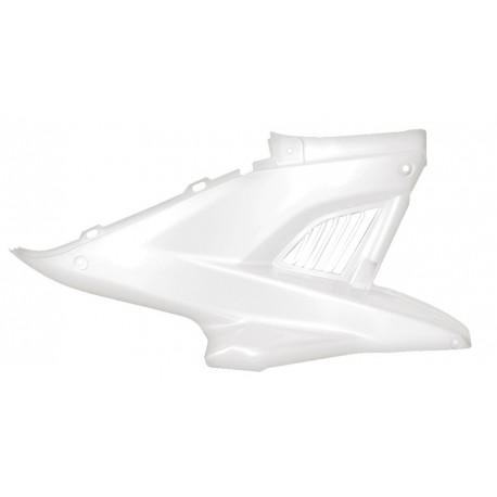 Plastika leva pod sedežem (BELA) Nitro,Aerox
