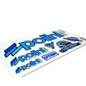 Sticker set POLINI  TEAM