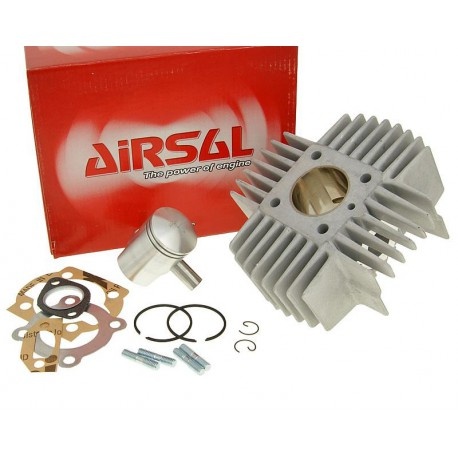 Cilinderkit Airsal 50cc Alu /Puch /  Pony Express / Tomos( New model )