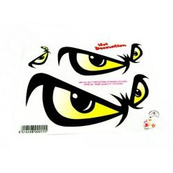 Nalepka No Fear Eyes (14x16cm)
