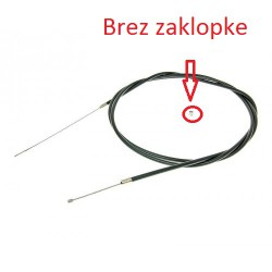 Throttle cable PTFE coated 180cm - universal without shutter
