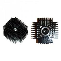 Cylinder head DMP 65cc -44mm - Black -Tomos