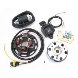 HPI CDI mini rotor ignition system BLACK for Puch , Tomos 12V 40W