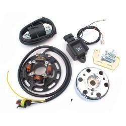 Elektrika ČRNA  HPI -CDI mini rotor - lučmi Puch -Tomos 12V 40W