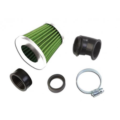 "Športni filter ""KN\"" Small green/black"
