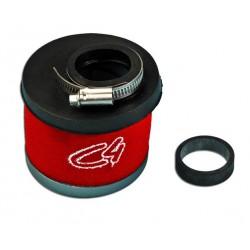 Športni zračni filter Rdeč -ARIA ROSSO-Ø 19-21-24