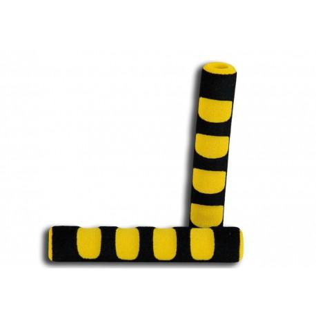 Pena ročk rumeno-črna