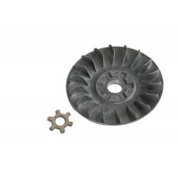 Half pulley and star washer for Cpi , Keeway , Malaguti - C4 Sport