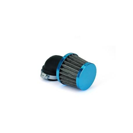 Športni zračni filter Sport 90° fi28/35 TNT (moder)