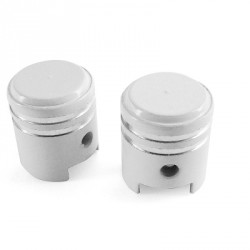 Okrasni ventilček TNT -BAT (2kom) -Siva