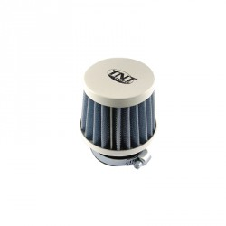 Športni filter KN SMALL STRAIGHT 28/35 mm (WHITE )