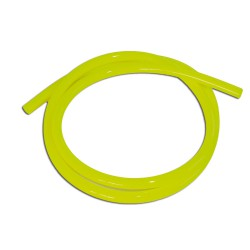 Fuel hose colored neon yellow 1m
