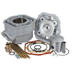 Cilinderkit  Barikit 80cc Alu,modularna glava - Derbi D50B0 (corse 43mm)