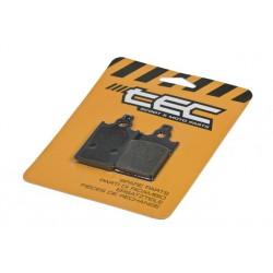 Zavorne ploščice TEC Organic  S12 -31.5x57.2x5.5mm (Yamaha DT,Malaguti,Beta)