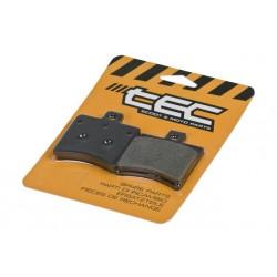 Zavorne obloge Tec Organic S30 - 50.96x53.40x9.5mm ( Aprilia SR )