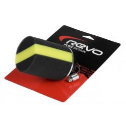 Športni zračni filter Revo Synth, Rumeni - 28 / 35mm, 0° / 45°