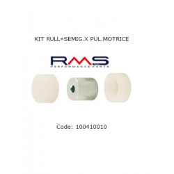 Set of rollers with inserts-Piaggio-Ciao-Si-Bravo