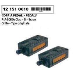 Par pedal L + D -Piaggio Ciao , Si , Bravo ,Super