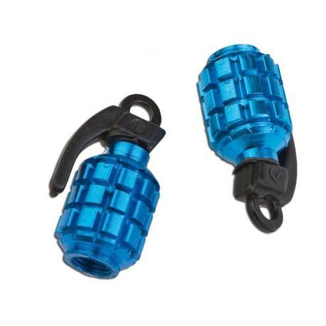 Okrasna kapica ventilčka Bomba Modra T4Tune