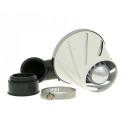 Športni zračni filter Helix POWER 28-35mm + 90 °  BELI