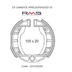 Zavorne čeljusti RMS 105x20mm set boben zavore Vespa Si , Tomos A35 NT