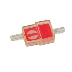 Fuel filter perpendicular Red