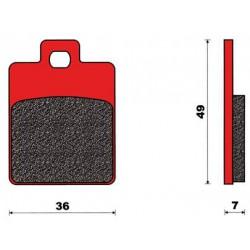 Zavorne ploščice C4 -Piaggio/Gilera  Stalker, Liberty, Et2-Et4 (36x49x7)