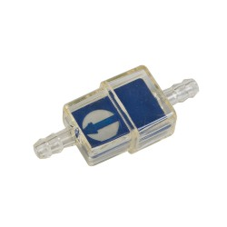 Fuel filter perpendicular Blue