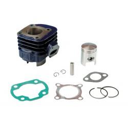 Cilinder kit C4 Blue Race 50cc -Minarelii Horizontal:Aprilia: Rally, Scarabeo, Sonic,Yamaha