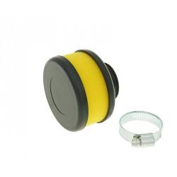 Športni zračni filter  Flat Foam RUMENI -28-35mm