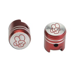 "Valve cups (2 pcs.) red ""victory"""