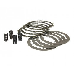 Clutch plate disc set  incl. springs for Minarelli AM