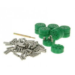 Uteži variomata 16x13mm 2,4g do 8,4g