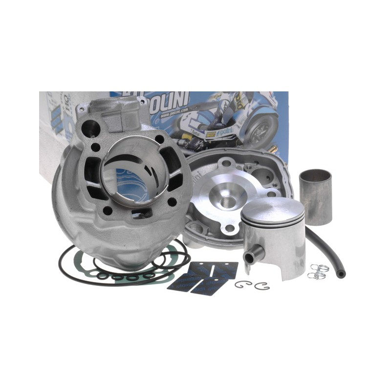 cilinder kit polini race 80cc cast iron am6. Black Bedroom Furniture Sets. Home Design Ideas
