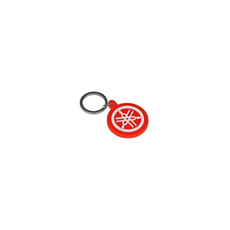 Yamaha Logo Red Keychain Yamaha Logo -...