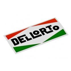 Sticker  Dellorto 80x40mm.