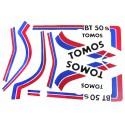 Stickers  Tomos BT50