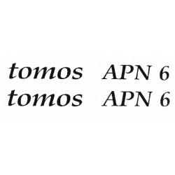 Nalepke Tomos  APN6
