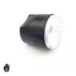 Luč prednja Piaggio  SI  - črna