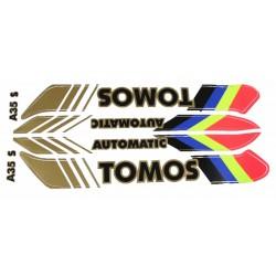 Nalepke Tomos  AVTOMATIK A35 S